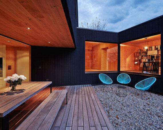 Einfamilienhaus Wald